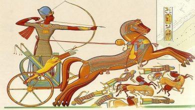 صورة الجيش المصرى القديم والتحديات التى واجهتها مصر