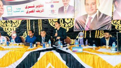 صورة محافظ الغربية : تنفيذ ٨ حملات طرق أبواب استهدفت ١٠٢٢٠ مواطن من قرى مركز زفتى