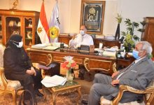 صورة محافظ أسيوط…يلتقى وكيل وزارة الزراعة