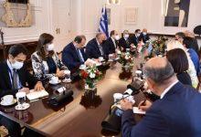 صورة الرئيس السيسى : التعاون بين مصر واليونان وقبرص سيشهد تطورا على كافة الأصعدة