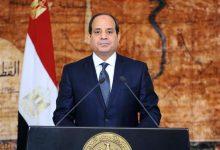 صورة كلمة الرئيس السيسي خلال المؤتمر الصحفي لقمة آلية التعاون الثلاثي